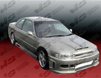 Accord 2Dr - Front Bumper - VIS Racing - Honda Accord 2DR & 4DR VIS Racing Z1 Boxer Front Bumper - Polyurethane - 90HDACC2DZ1-001P