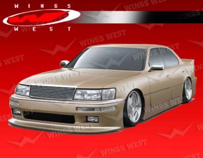 LS400 - Front Bumper - VIS Racing - Lexus LS400 VIS Racing JPC Front Bumper - 90LXLS44DJPC-001