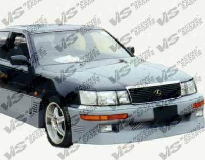 LS400 - Front Bumper - VIS Racing - Lexus LS VIS Racing VIP Front Bumper - 90LXLS44DVIP-001