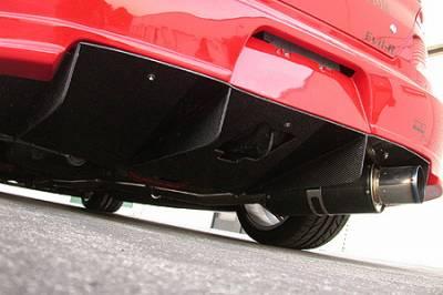 Lancer - Rear Add On - APR - Mitsubishi Lancer APR Rear Diffuser - AB-483020