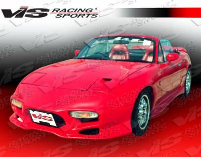 Miata - Front Bumper - VIS Racing - Mazda Miata VIS Racing Invader Front Bumper - 90MZMX52DINV-001