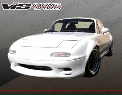 Miata - Front Bumper - VIS Racing - Mazda Miata VIS Racing Racer Design Front Bumper - 90MZMX52DRD-001