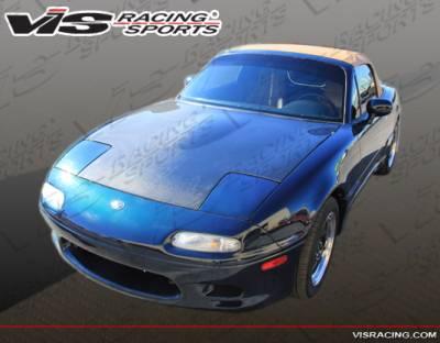 VIS Racing - Mazda Miata VIS Racing Racer Design Front Bumper - 90MZMX52DRD-001 - Image 2
