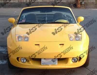 Miata - Front Bumper - VIS Racing - Mazda Miata VIS Racing RE Front Bumper - 90MZMX52DRE-001