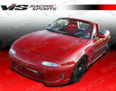 Miata - Front Bumper - VIS Racing - Mazda Miata VIS Racing Wizdom Front Bumper - 90MZMX52DWIZ-001