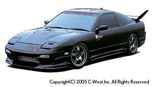 180SX - Front Bumper - C-West - Zenki Front Bumper