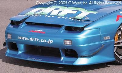 180SX - Front Bumper - C-West - Front Bumper