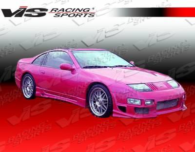 300Z - Front Bumper - VIS Racing - Nissan 300Z VIS Racing Ballistix Front Bumper - 90NS3002DBX-001