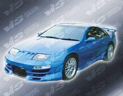 300Z - Front Bumper - VIS Racing - Nissan 300Z VIS Racing Demon-2 Front Bumper - 90NS3002DDEM2-001