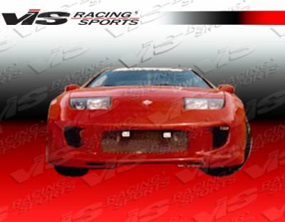300Z - Front Bumper - VIS Racing - Nissan 300Z VIS Racing Kombat Front Bumper - 90NS3002DKOM-001