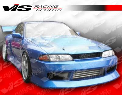 Skyline - Front Bumper - VIS Racing - Nissan Skyline VIS Racing B Speed Front Bumper - 90NSR32GTRBSP-001
