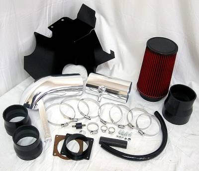 Air Intakes - Oem Air Intakes - 4 Car Option - Ford Superduty 4 Car Option Brute Force Cold Air Intake - AFS-FD101