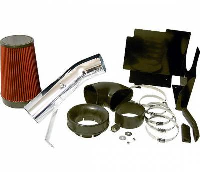 Air Intakes - Oem Air Intakes - 4 Car Option - Chevrolet Silverado 4 Car Option Brute Force Cold Air Intake - AFS-GM001