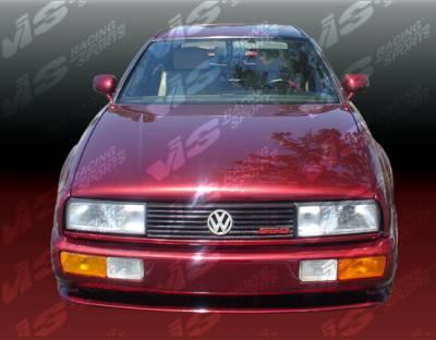Corrado - Front Bumper - VIS Racing - Volkswagen Corrado VIS Racing Max Front Bumper - 90VWCOR2DMAX-001