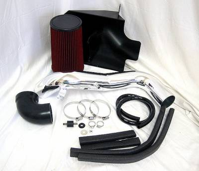 Air Intakes - Oem Air Intakes - 4 Car Option - Chevrolet S10 4 Car Option Brute Force Cold Air Intake - AFS-GM009