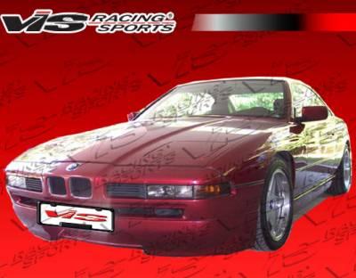 8 Series - Front Bumper - VIS Racing - BMW 8 Series VIS Racing A Tech Front Lip - 91BME312DATH-011
