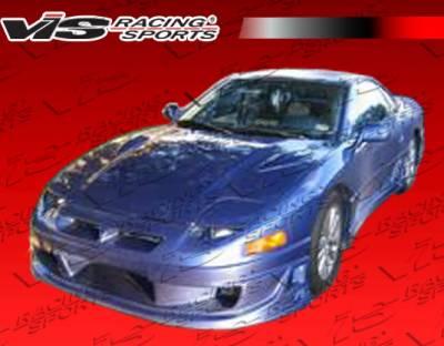 3000GT - Front Bumper - VIS Racing - Mitsubishi 3000GT VIS Racing Ballistix Front Bumper - 91MT3K2DBX-001