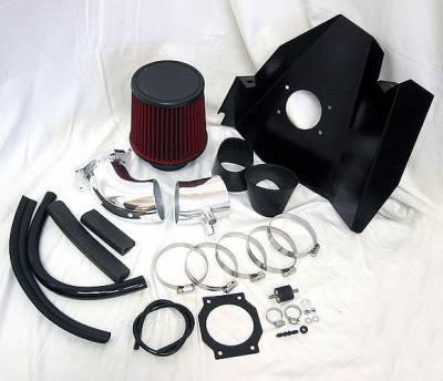 Air Intakes - Oem Air Intakes - 4 Car Option - Nissan Xterra 4 Car Option Brute Force Cold Air Intake - AFS-NS500