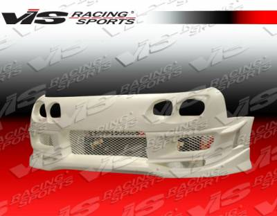 NX - Front Bumper - VIS Racing. - Nissan NX VIS Racing Cyber-2 Front Bumper - 91NSNX2DCY2-001