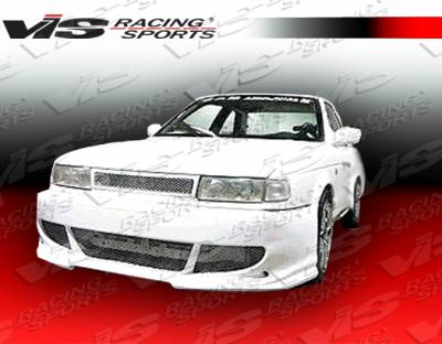 Sentra - Front Bumper - VIS Racing. - Nissan Sentra VIS Racing Fuzion Front Bumper - 91NSSEN2DFUZ-001