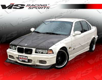 3 Series 4Dr - Front Bumper - VIS Racing - BMW 3 Series VIS Racing E46 M3 Style Front Bumper - 92BME362DE46-001