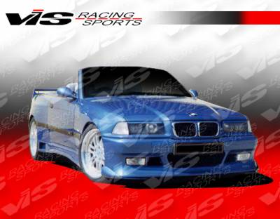 3 Series 4Dr - Front Bumper - VIS Racing - BMW 3 Series VIS Racing Max Front Bumper - 92BME362DMAX-001