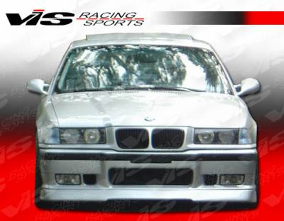 3 Series 2Dr - Front Bumper - VIS Racing - BMW 3 Series 2DR VIS Racing RT Front Lip - 92BME362DRT-011