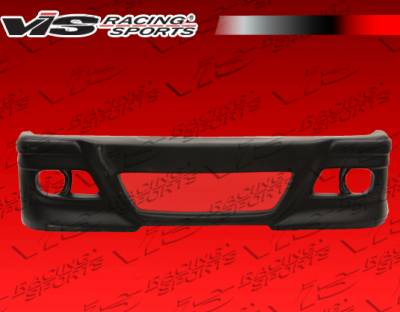 3 Series 4Dr - Front Bumper - VIS Racing - BMW 3 Series VIS Racing R Tech Front Bumper - 92BME362DRTH-001