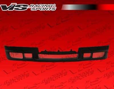 3 Series 4Dr - Front Bumper - VIS Racing - BMW 3 Series VIS Racing R Tech-2 Front Lip - 92BME362DRTH2-011