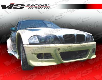3 Series 4Dr - Front Bumper - VIS Racing. - BMW 3 Series VIS Racing GT Widebody Front Bumper - 92BME364DGTWB-001