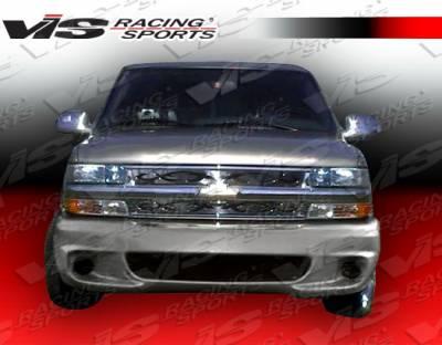 Yukon - Front Bumper - VIS Racing - GMC Yukon VIS Racing Lighting Front Bumper - 92GMYUK4DLIG-001