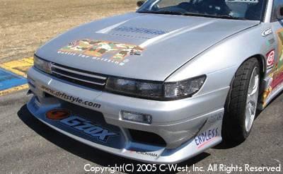 Silvia - Front Bumper - C-West - Front Bumper