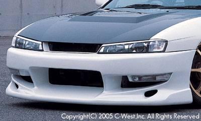 Silvia - Front Bumper - C-West - Kouki Front Bumper