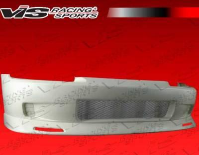 Civic 2Dr - Front Bumper - VIS Racing - Honda Civic 2DR & Hatchback VIS Racing Crow Front Bumper - 92HDCVC2DCRO-001