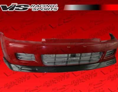 Civic 2Dr - Front Bumper - VIS Racing - Honda Civic 2DR & Hatchback VIS Racing Walker Carbon Fiber Lip - 92HDCVC2DWAL-011C