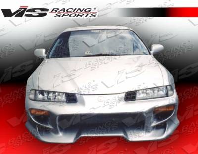 Prelude - Front Bumper - VIS Racing - Honda Prelude VIS Racing Invader-4 Front Bumper - 92HDPRE2DINV4-001