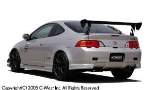 Integra 4Dr - Rear Bumper - C-West - Zenki Rear Bumper