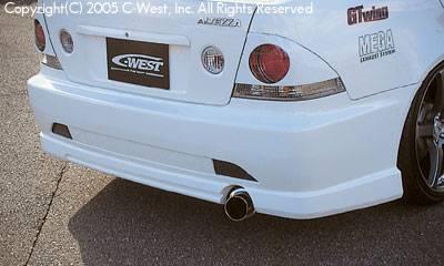 IS - Rear Bumper - C-West - Rear Bumper