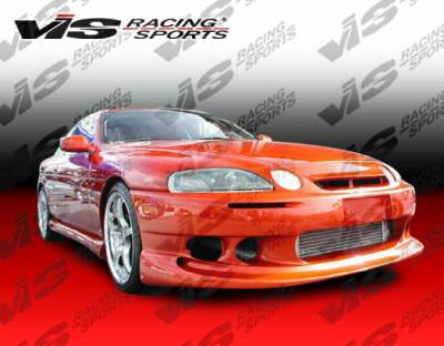SC - Front Bumper - VIS Racing - Lexus SC VIS Racing Ballistix Front Bumper - 92LXSC32DBX-001