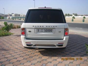 Range Rover - Rear Bumper - Custom - JR Rear Bumper