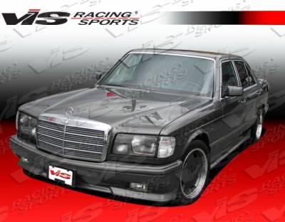 S Class - Front Bumper - VIS Racing - Mercedes-Benz S Class VIS Racing Euro Tech Front Bumper - 92MEW1404DET-001