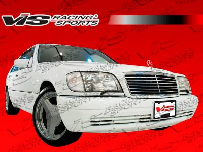 S Class - Front Bumper - VIS Racing - Mercedes-Benz S Class VIS Racing Laser Front Bumper - 92MEW1404DLS-001