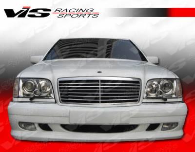 S Class - Front Bumper - VIS Racing - Mercedes-Benz S Class VIS Racing VIP Front Bumper - 92MEW1404DVIP-001