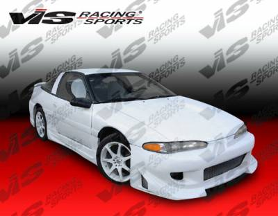 Eclipse - Front Bumper - VIS Racing - Mitsubishi Eclipse VIS Racing Battle Z Front Bumper - 92MTECL2DBZ-001
