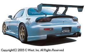 RX7 - Rear Bumper - C-West - Rear Bumper