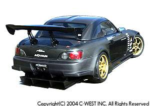 S2000 - Rear Bumper - C-West - Rear Bumper