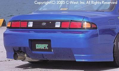 Silvia - Rear Bumper - C-West - Kouki Rear Bumper