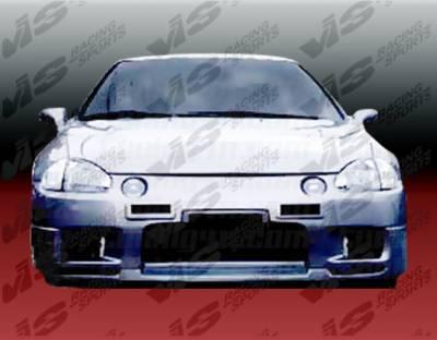 Del Sol - Front Bumper - VIS Racing - Honda Del Sol VIS Racing Omega Front Bumper - 93HDDEL2DOMA-001