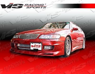 GS - Front Bumper - VIS Racing - Lexus GS VIS Racing Cyber-1 Front Bumper - 93LXGS34DCY1-001