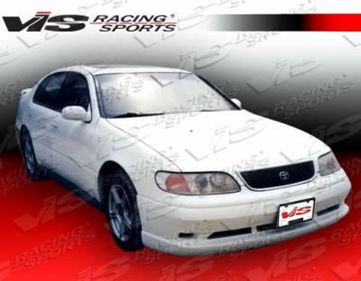 GS - Front Bumper - VIS Racing - Lexus GS VIS Racing VIP Front Lip - 93LXGS34DVIP-011